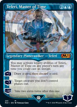 Teferi, Master of Time (291) - Showcase