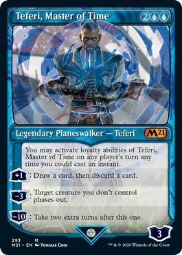 Teferi, Master of Time (293) - Showcase