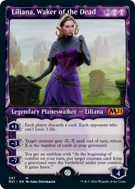 Liliana, Waker of the Dead - Showcase