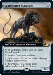 Sparkhunter Masticore - Foil - Extended Art