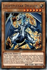 Lightpulsar Dragon - TOCH-EN031 - Rare - 1st Edition