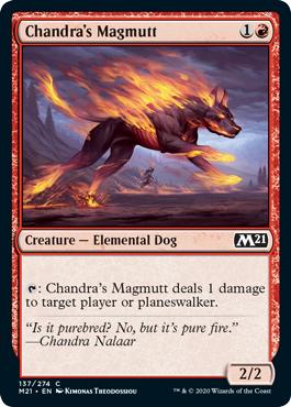 Chandras Magmutt - Foil