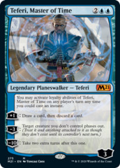 Teferi, Master of Time (275) - Alternate Art