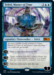 Teferi, Master of Time (276) - Alternate Art
