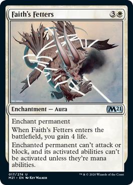 Faiths Fetters - Foil