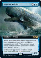 Pursued Whale - Extended Art