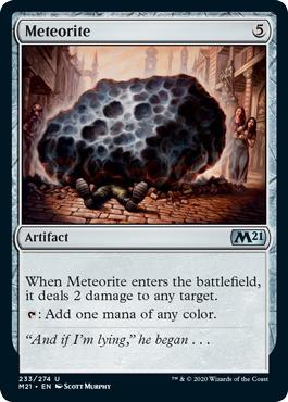 Meteorite - Foil