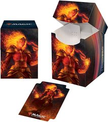 Ultra Pro - MTG Core Set 2021 PRO 100+ Deck Box - Chandra, Heart of Fire