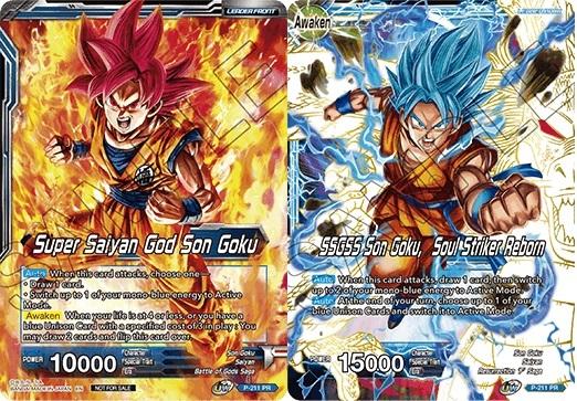 Leader Dragon Ball Super *SSGSS Son Goku The Soul Striker* SD1-01 ST M//N