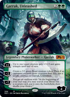 Garruk, Unleashed - Borderless