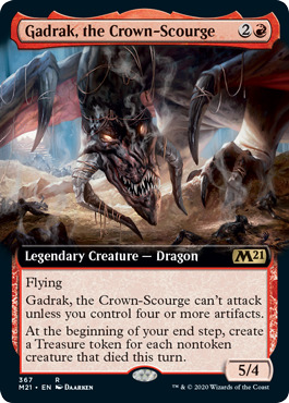 Gadrak, the Crown-Scourge - Extended Art