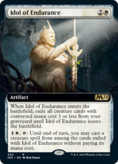 Idol of Endurance - Foil - Extended Art