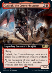 Gadrak, the Crown-Scourge (Extended Art) - Foil