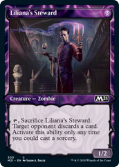 Liliana's Steward (Showcase) - Foil