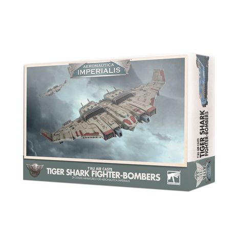 Aeronautica Imperialis: Tau Air Caste Tiger Shark Fighter-Bombers