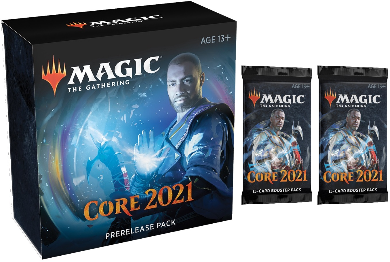 Core Set 2021 Prerelease Pack + 2 Core Set 2021 Prize Boosters