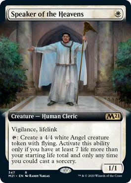 Speaker of the Heavens - Extended Art
