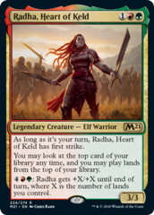 Radha, Heart of Keld - Foil