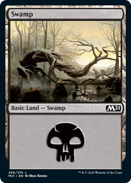Swamp (266) - Foil