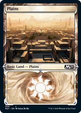 Plains (309) - Foil - Showcase