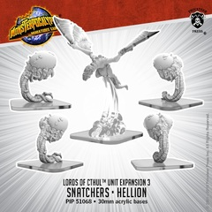 Lords of Cthul - Snatchers & Hellion - PIP51068 - 30mm Acrylic bases