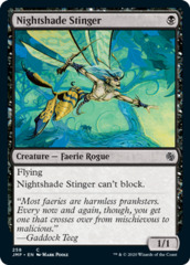 Nightshade Stinger