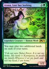 Azusa, Lost but Seeking - M21 Prerelease - Foil