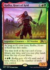 Radha, Heart of Keld - Foil - Prerelease Promo