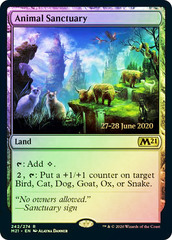 Animal Sanctuary - Foil - Prerelease Promo