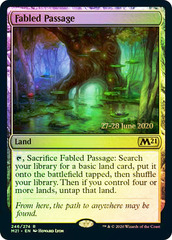 Fabled Passage - M21 Prerelease - Foil