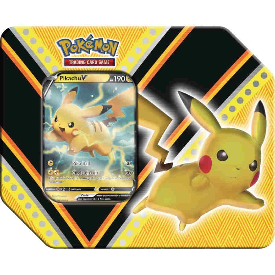 V Powers Tin - Pikachu