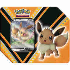 V Powers Tin - Eevee/Pikachu/Eternatus