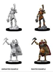 Nolzur's Marvelous Miniatures - Female Human Barbarian