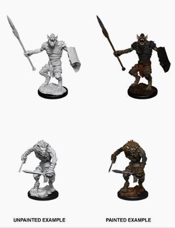 Nolzurs Marvelous Miniatures - Male Gnoll & Gnoll Flesh Gnawer