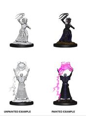 Nolzur's Marvelous Miniatures - Female Drow Mage & Drow Priestess