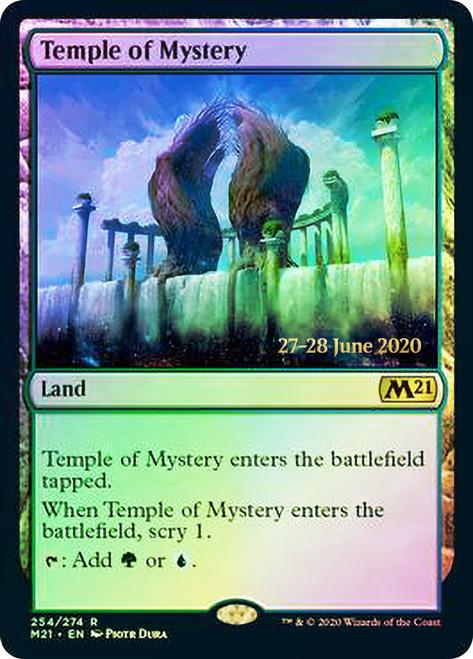 Temple of Mystery - Foil - Core Set 2021 Prerelease Promo