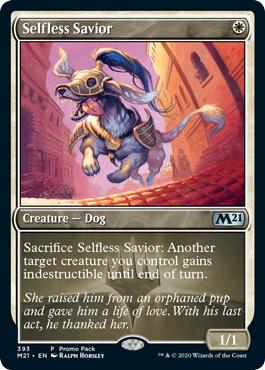 Selfless Savior - Dark Frame Promo Pack