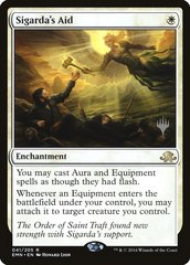 Sigarda's Aid - Foil - Promo Pack