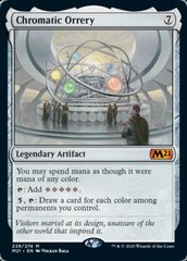 Chromatic Orrery - Foil - Promo Pack