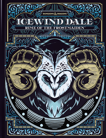 5th Edition - Icewind Dale: Rime of the Frostmaiden (Alternate Cover)