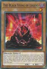 The Black Stone of Legend - LDS1-EN007 - Common - 1st Edition