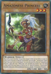 Amazoness Princess - LDS1-EN022 - Common - 1st Edition