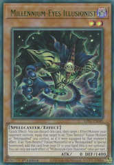 Millennium-Eyes Illusionist (Green) - LDS1-EN045 - Ultra Rare - 1st Edition