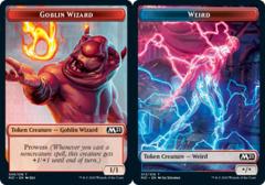 Goblin Wizard Token // Weird Token - Foil