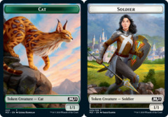 Cat Token (020) // Soldier Token - Foil