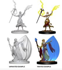 Nolzur's Marvelous Miniatures - Female Elf Wizard