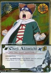 Choji Akimichi - N-635 - Promo - Foil