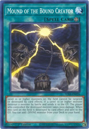 Mound of the Bound Creator - SDSA-EN026 - Common - 1st Edition