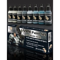 Scale75 - Scalecolor Range - Nmm Paint Set Steel - SSE-001 - Paint Set