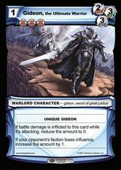 Gideon, the Ultimate Warrior